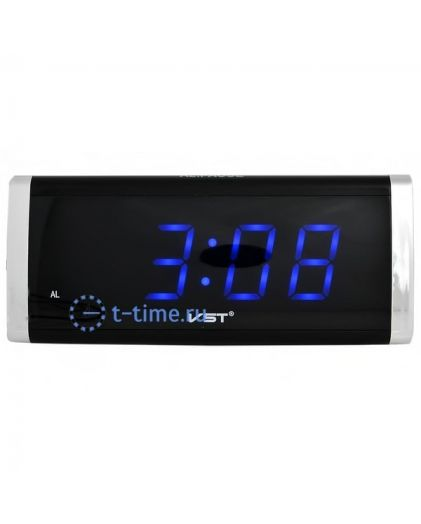 Часы сетевые Vst VST730-5 часы 220В син.цифры-30