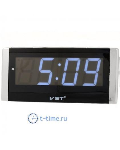 VST731-6 часы 220В бел.цифры-30