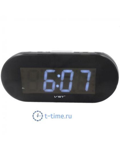 VST 717-6 часы 220В бел.цифры-40