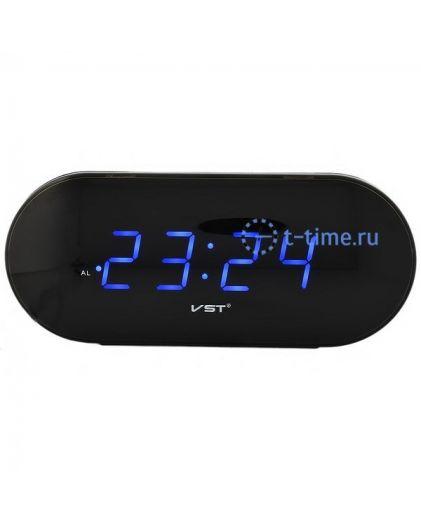 Часы сетевые Vst VST715-5 часы 220В син.цифры-40