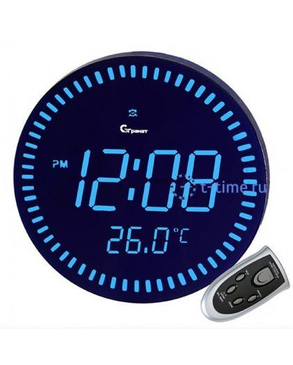 Часы сетевые Гранат C-1009-Син