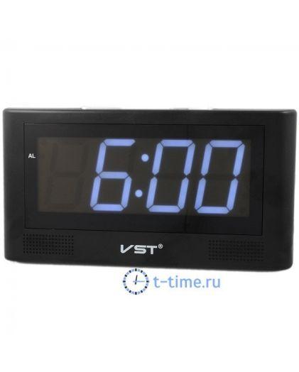 VST732-6 часы 220В бел.цифры-30