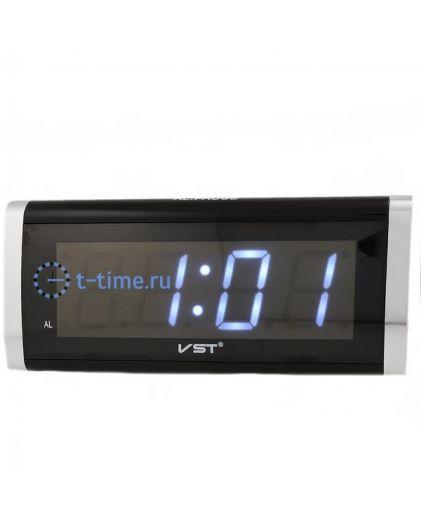 VST 730-6 часы 220В бел.цифры-30