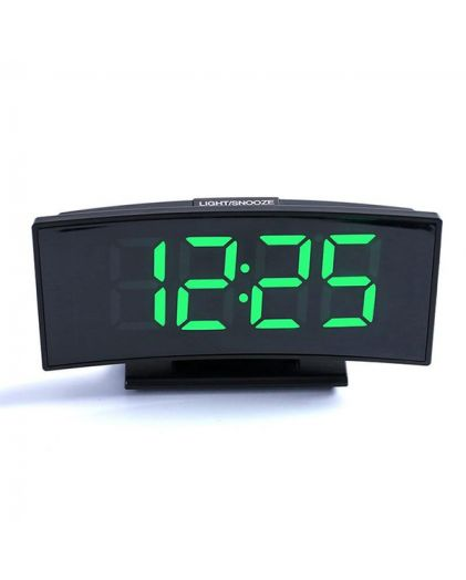 Часы сетевые 3621-4 часы 220В зел.цифры