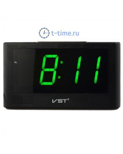 VST 732-4 часы 220В зел.цифры-30