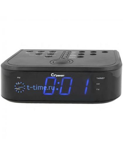 ГРАНАТ C-0946-Син будильник сетевой