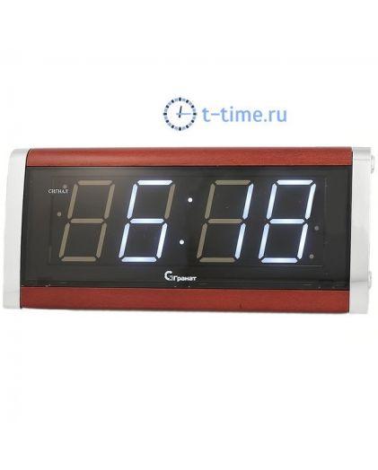 ГРАНАТ C-1812-Р(бел) будильник сетевой