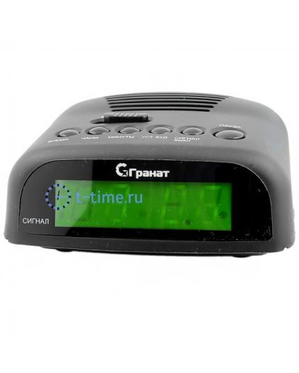 ГРАНАТ C-0621-Зел будильник сетевой