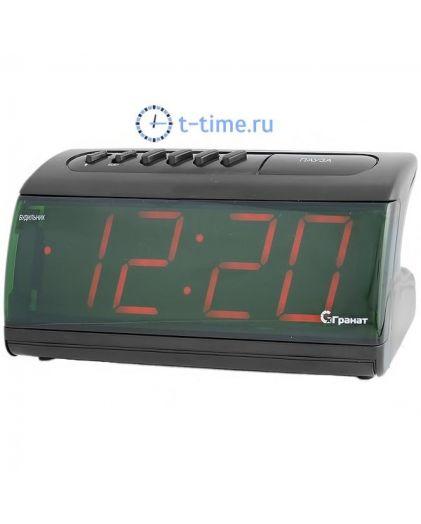 ГРАНАТ C-1861-Крас будильник сетевой