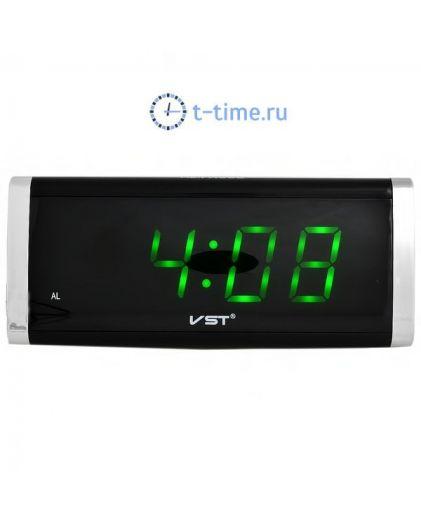 VST730-4 часы 220В зел.цифры-30
