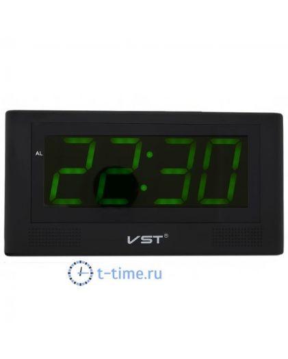 VST732-2 часы 220В зел.цифры-30
