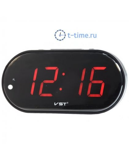 VST780-1 часы 220В красн.цифры+блок-30