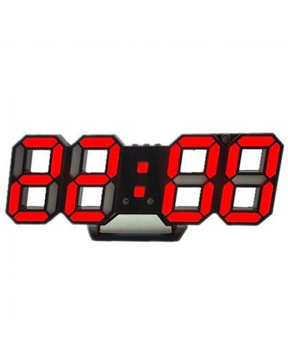 Часы сетевые 220В красные\белые циф. DS-6609