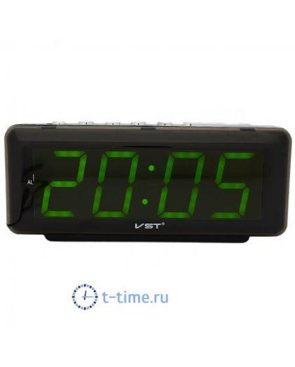 VST762-2 часы 220В зел.цифры-30