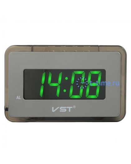 VST728-4 часы 220В зел.цифры-40 USB кабель (без адаптера)