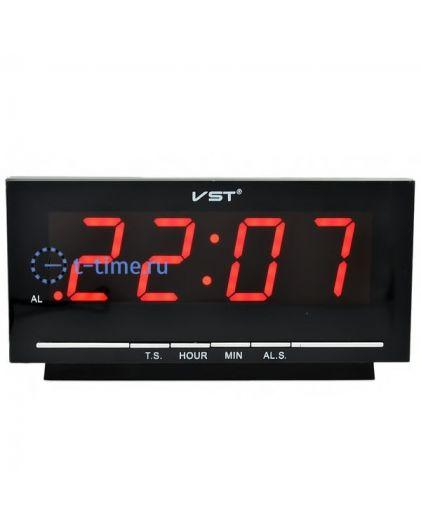 VST778-1 часы 220В красн.цифры-30