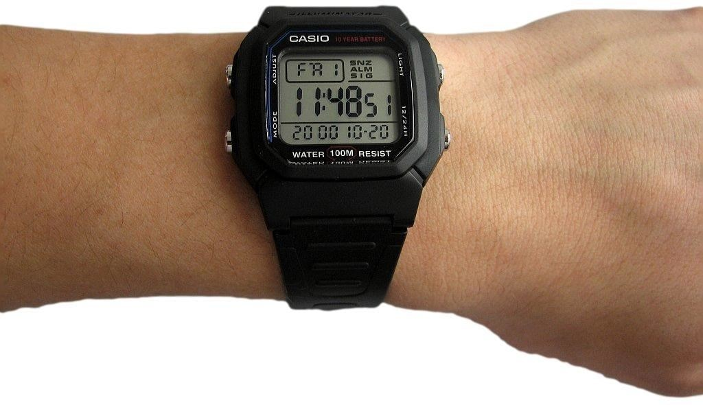 инструкция к часам casio w-800h