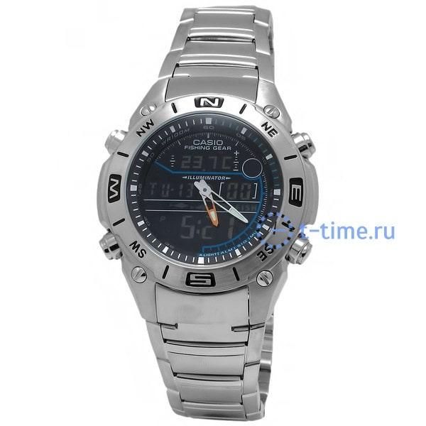 Часы Casio Fishing Gear AMW-703D-1A AMW-703D-1AVEF